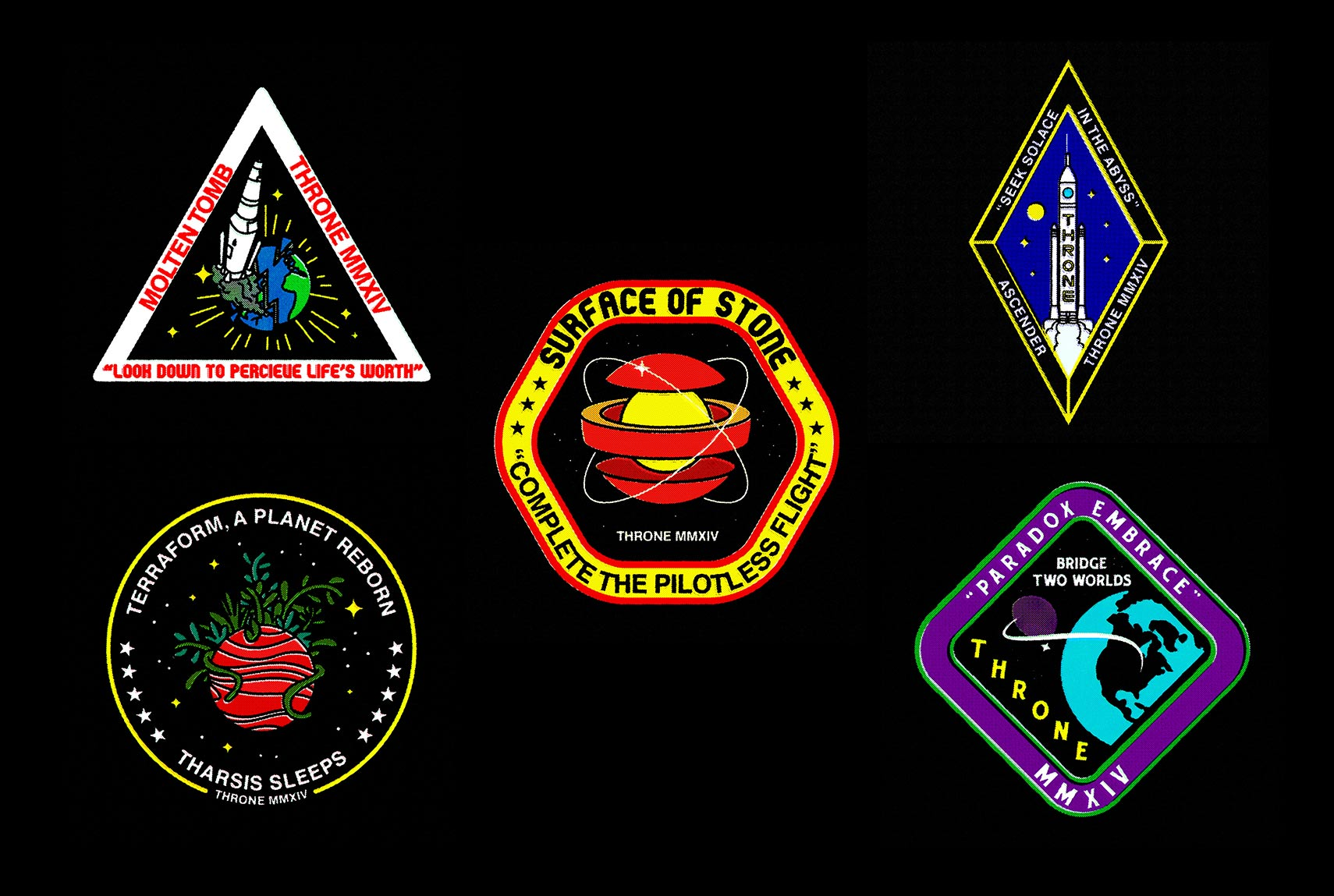 Throne Patches